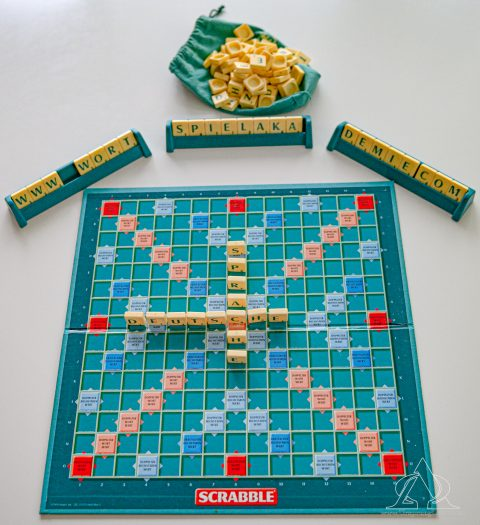 Scrabble-Deutsche Sprache
